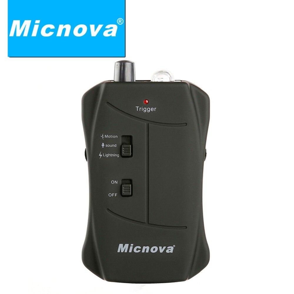 Micnova MQ-VTO ברק / זיקוקים Motion קול חיישן / - מצלמה ותצלום