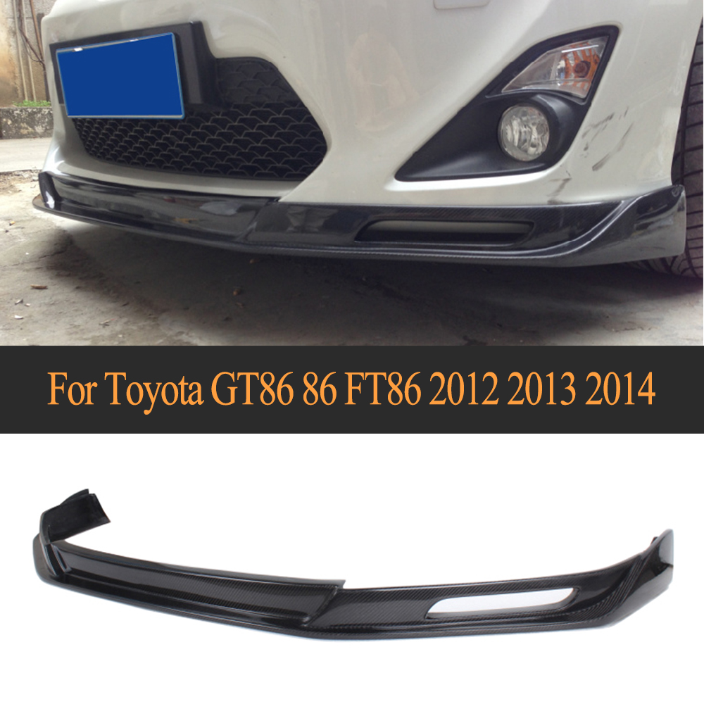 Top Quality Car Front Bumper Lip Spoiler Splitters 12-13 For Scion (Fits 12-13 GT86 FT86 &For Subaru BRZ & For Scion)
