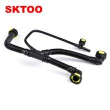 цена на SKTOO Car Engine Crankcase Breather Hose Pipes For Peugeot 206 207 307 308 408 For Citroen C2 c-quatre 1.6 16V