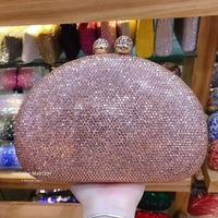 women pink/purple/silver/black crystal diamond clutch purse Wallet red/green Handbag Clutch Bags Evening Bags Wedding party bag