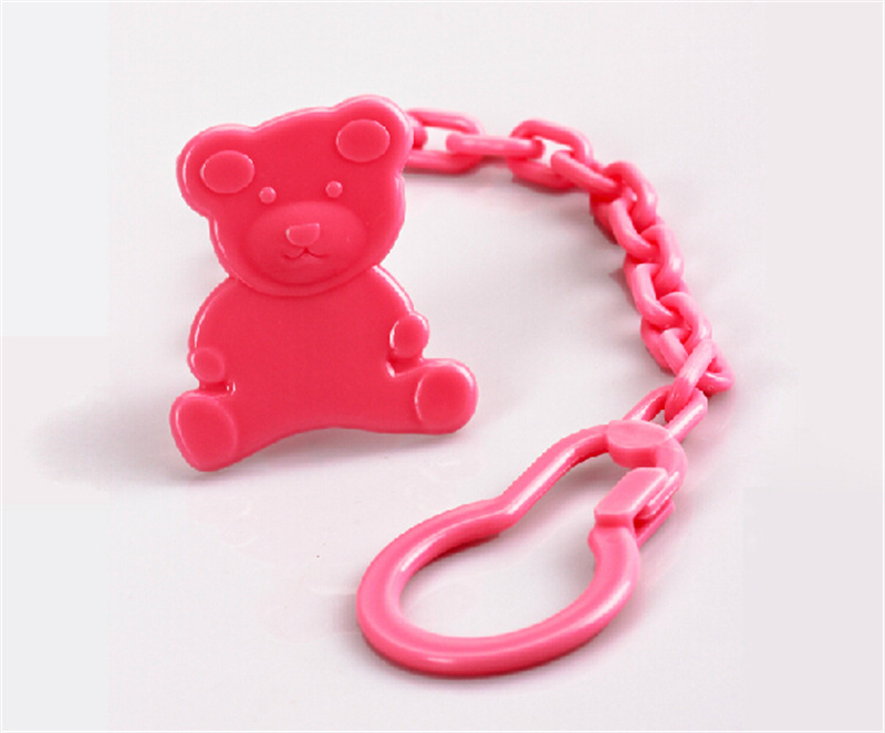 Baby Pacifier Clips Funny Nipple Teether Baby Toy Drop-resistant Pacifier Hold R