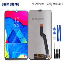 Original LCD For Samsung Galaxy M10 2019 Display Touch Screen Digitizer Assembly M10 2019 SM-105 M105F M105DS Replacement Parts все цены
