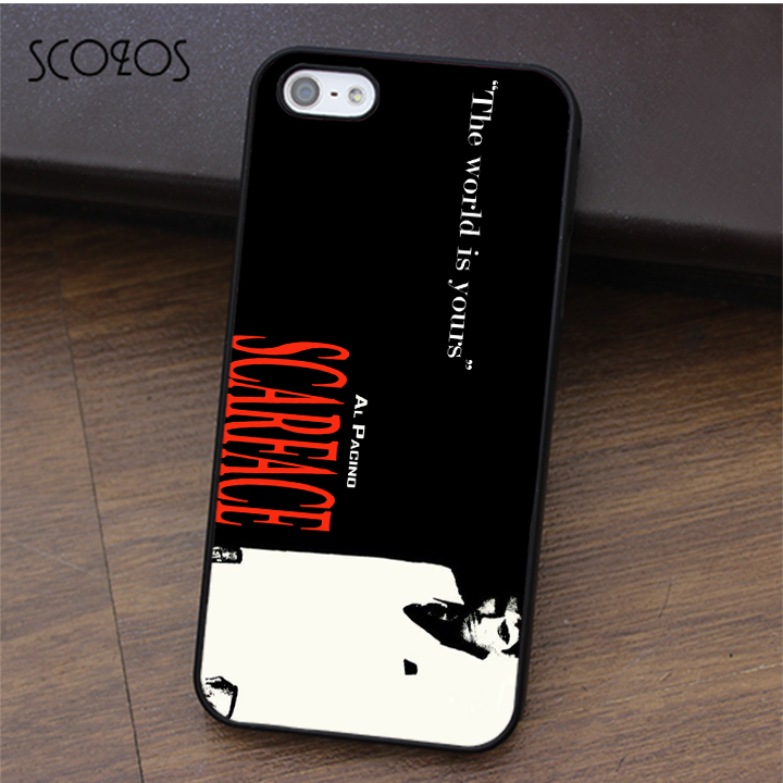 SCARFACE GANGSTER PHONE CASE FOR SAMSUNG NOTE & GALAXY S5 ... |Scarface Phone Case