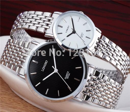relogio masculino original brand mens watch full stainless steel watch men and women fashion couple watch montre femme gift ...