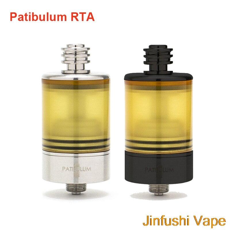 2019 nouveau Patibulum RTA 3.5 ml MTL réservoir atomiseur 22mm diamètre vaporisateur 510 fil réglable débit d'air réservoir AFC système Vape RTA