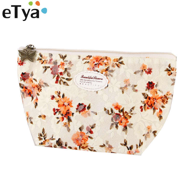 bdd849c4e6ce Detail Feedback Questions about Lace Flower Women Cosmetic bag ...
