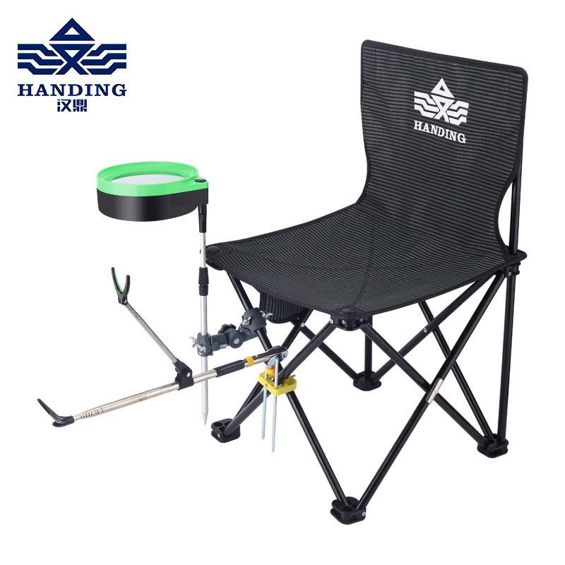 Han Ding Fishing Chair Fishing Chair Multi-function Folding Portable Fishing Supplies Fishing Chair Fishing Stool
