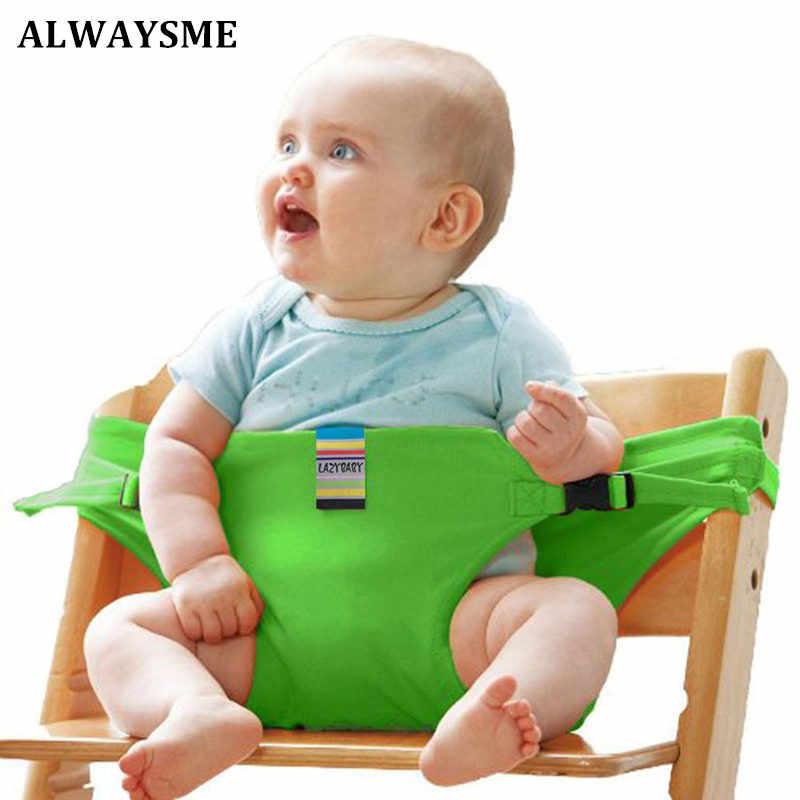 ALWAYSME bébé infantile enfants chaises hautes ceinture de sécurité rembourrage harnais chaise de salle à manger ceinture de sécurité harnais rehausseur sièges ceinture de sécurité