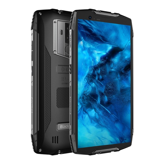 Blackview BV6800 pro 6580mAh IP68 Waterproof 5.7″18:9 16MP Camera NFC Wireless Charger 4GB 64G MT6750T Android 8.1 Smartphone
