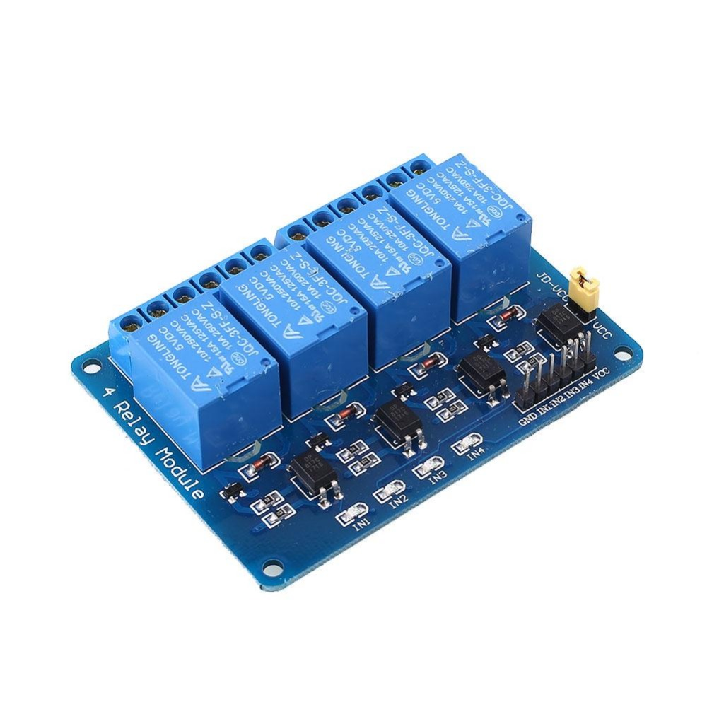Aliexpress.com : Buy Relay Expansion Board Module 4 Ways 2 ...