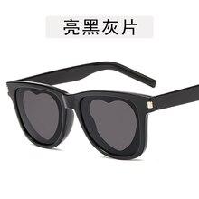 Heart Shape Retro Sunglasses Women Cat Luxury Brand Design Rivet Frame 2019 Eye Sun Glasses Shades Fro Vintage Fashion