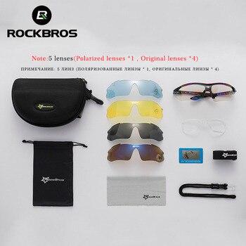 Rockbros polarized cycling sun glasses outdoor sports bicycle glasses men women bike sunglasses 29g goggles eyewear 5/3 lens