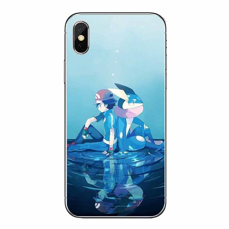 Phone Shell Cover Water Shuriken Pokemon Go Charms Greninja