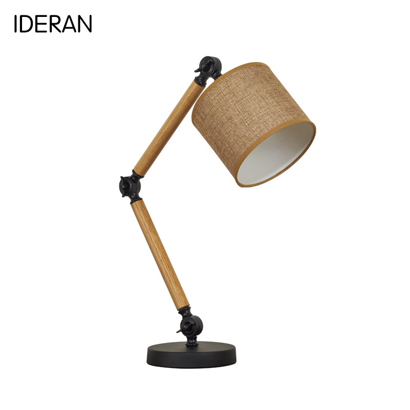 Table Lamp Board Shades For Lamps Star Wars Bedroom Decoration Retro Fantini Desktop Wood Coffee Nordic Style In Led From Lights