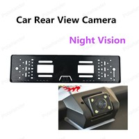 Hot Sell Car Rear View Camera With 4 LED Light Night Vision Rearview CMOS Camera Car