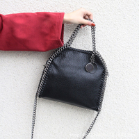 2018 Vintage Messenger Bags Women Rivets Handbags Ladies Chains Shoulder Bag Female Brand Designer Crossbody Bolsa
