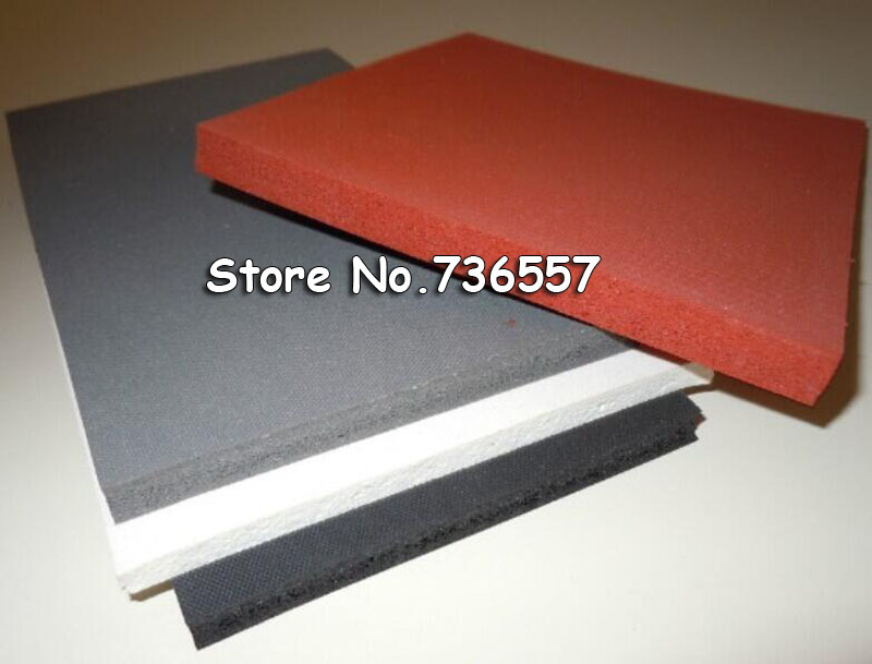 40*60cm Red Silicone Rubber Pad Baking Mat Rubber Silica Gel Pad for Heat Press Printing Machine стоимость