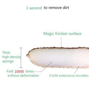 Image 3 - 3PCS ad Alta densità antibatterico spugna pulita spugna da cucina bagno pulito spugna magica wipe paglietta spazzola per la pulizia del Forno