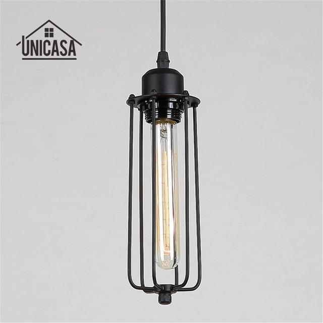 Antique Wrought Iron Lighting Fixtures Black Metal Pendant Lights