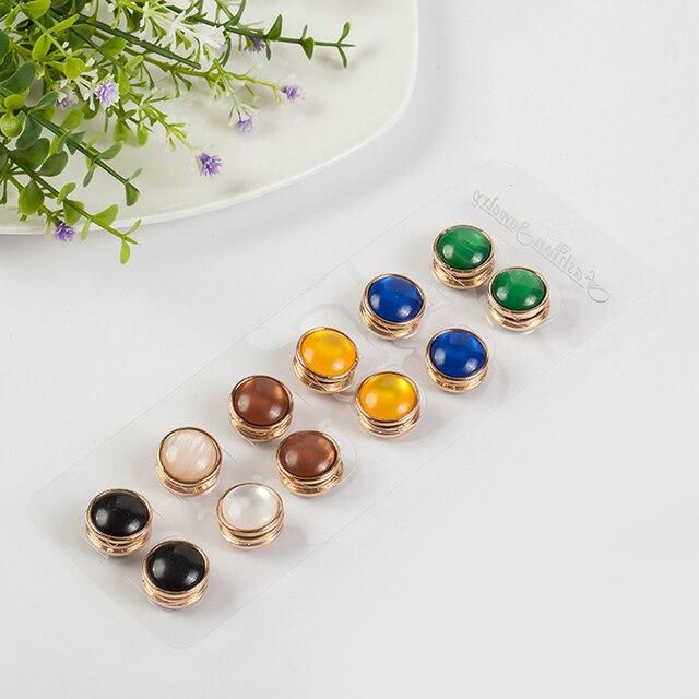 Starke magnetische pin hijab opal schal magnet brosche muslim ...