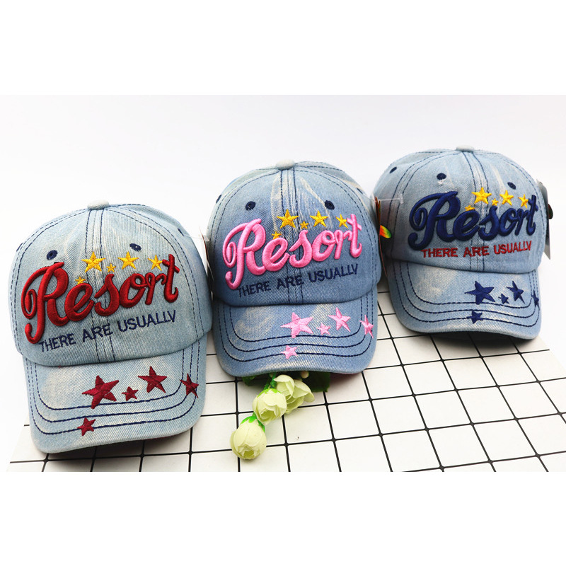 Children's Cowboy   Baseball     Caps   Boy Girl Outdoor Bending Along   Baseball   Hat Freely Adjustable Comfortable Girls   Cap   Kids Hat