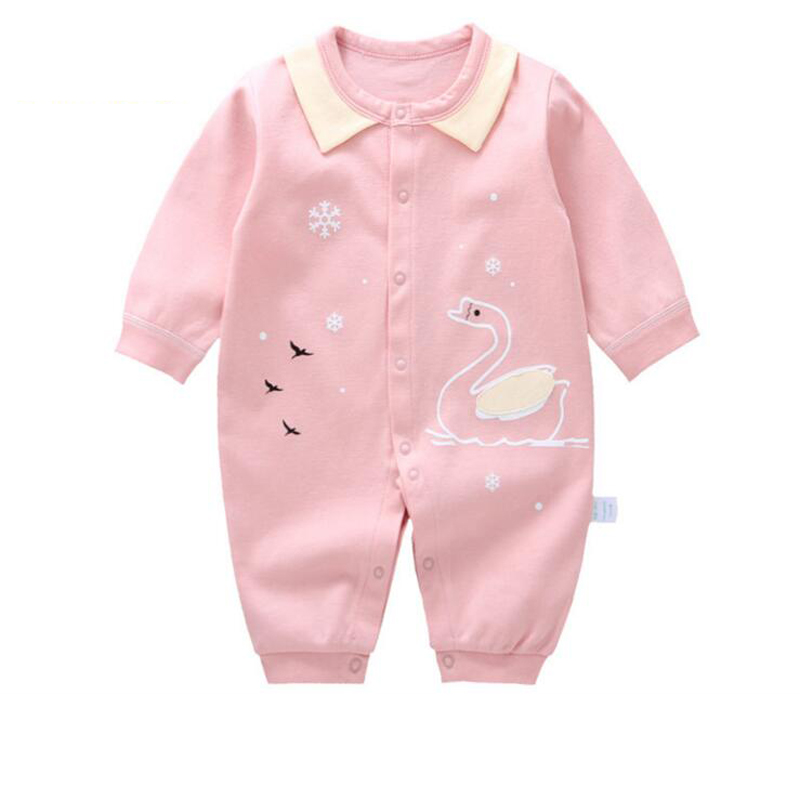 Baby Romper 2018 boy clothes cotton unisex baby girls clothing infant Long sleeves Newborn 3M-12M kiind of new blue women s xl geometric printed sheer cropped blouse $49 016