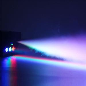 Image 2 - Máquina de niebla LED RGB, iluminación con Control remoto, Fiesta de DJ de humo de escenario, pulverizador colorido, Zimne Ognie, discoteca, Dj, boda, 500W