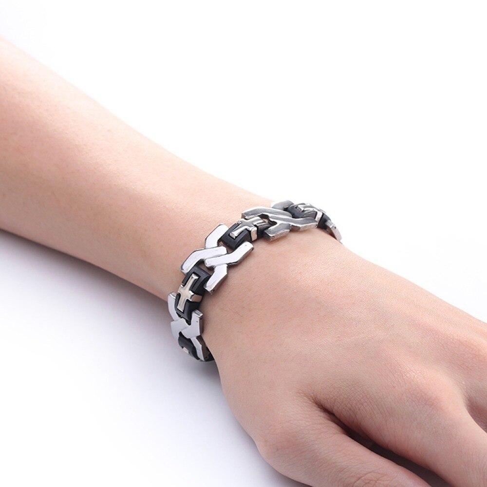Men\'s Tire Ring Vintage Stainless steel Wedding Rings For Male ...