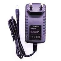 Liitokala 12 V 1.5A adaptador para lii-260 lii-300 12 V 2A adaptador para lii-400 lii-500 cargador de batteria