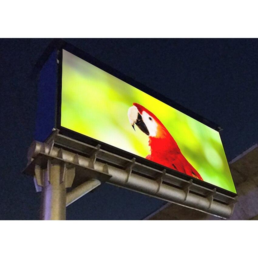 P4 SMD 512x512mm moulage sous pression en aluminium armoire location extérieure étanche polychrome LED affichage pour la publicité