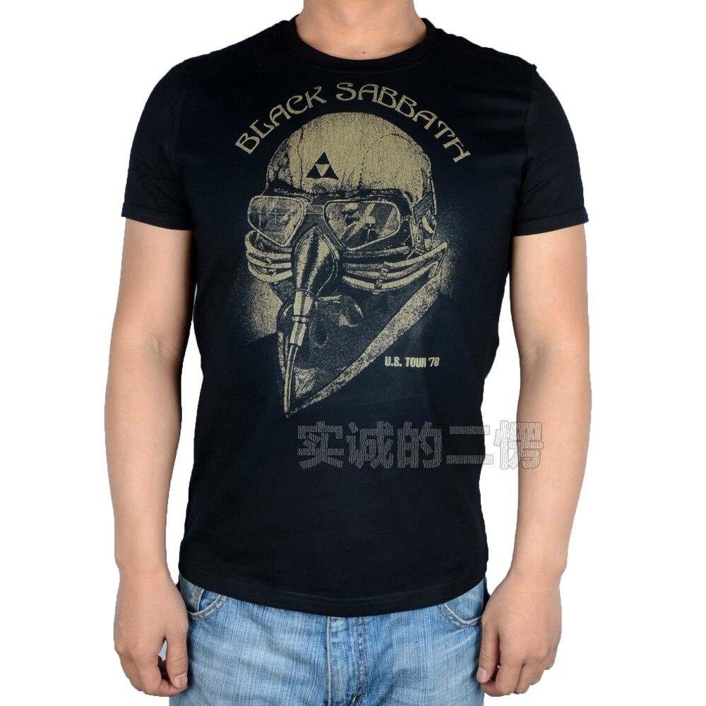 Black sabbath t shirt avengers - Free Shipping Licensed Black Sabbath Avengers Iron Man Us Tour 78 T Tee Shirt L