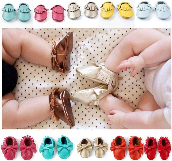 fedex wholesale baby moccasins soft