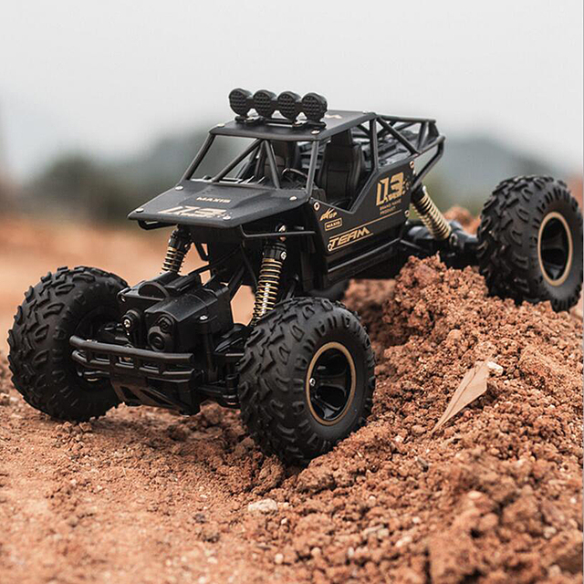 1/16 4WD RC Car Updated Version 2.4G Radio Control RC Cars Toys Bigfoot Car Model Vehicle Toys For Children Gift Dropshipping