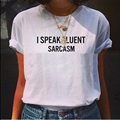 130 Trendy Womens O Neck Letter Printed T Shirt Funny Letters T-shirt New Sale tshirt women tops t shirt couple clothes crop top