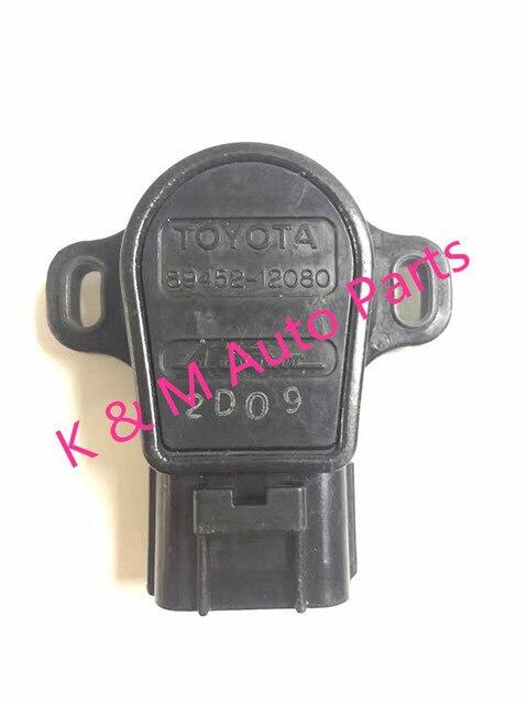 89452-12080 FOR Toyota T100 Tacoma 4Runner Supra Throttle Position Sensor TPS OEM 89452-12080 TPS SENSOR 89452-12080