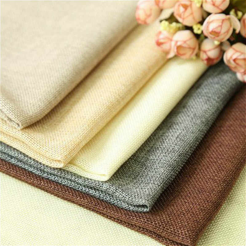 45x50cm Chemical Fiber Thin Imitation Linen Background Cloth Seaming Shooting Props Photo Background Cloth Photography Props
