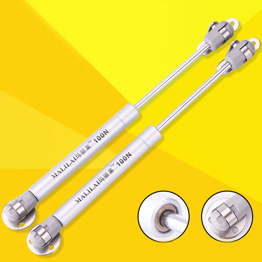 100N /10kg Copper Force Cabinet Door Lift Support Gas Strut Hydraulic Spring Hinge Kitchen Cupboard Hinge Furniture Hardware