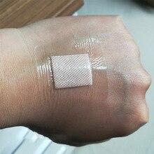 10 шт. 3,8 см X 3,8 см гипоаллергенный нетканый медицинский клейкий перевязочный браслет для ран, повязка для помощи, большая повязка на рану, первая помощь на открытом воздухе