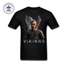 2017 Fashion Summer Style Sons of Odin Vikings Cotton Funny t shirt for men