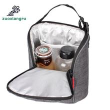 Outdoor Picnic Bag 4l Cooler Lunch Bags Insulated Thermal Lunch Box Picnic Tote Portable Handbags Refrigerator Kids Camping Bag jeebel 18l double deck outdoor picnic basket bag storage thermal bag handbags shoulders camping cooler tote thermo