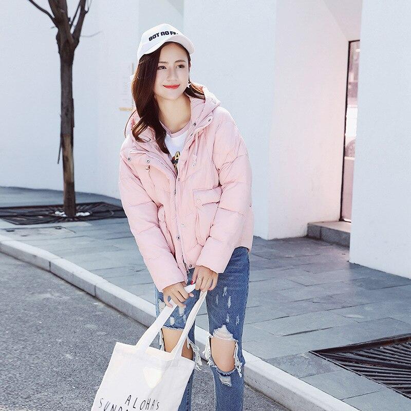 À Chaud yellow Veste Manteau 2018 Capuche D'hiver Poche De pink Court Grande Tq016 Femmes Black Coton Survêtement Nouvelles gray Lâche wYxO0