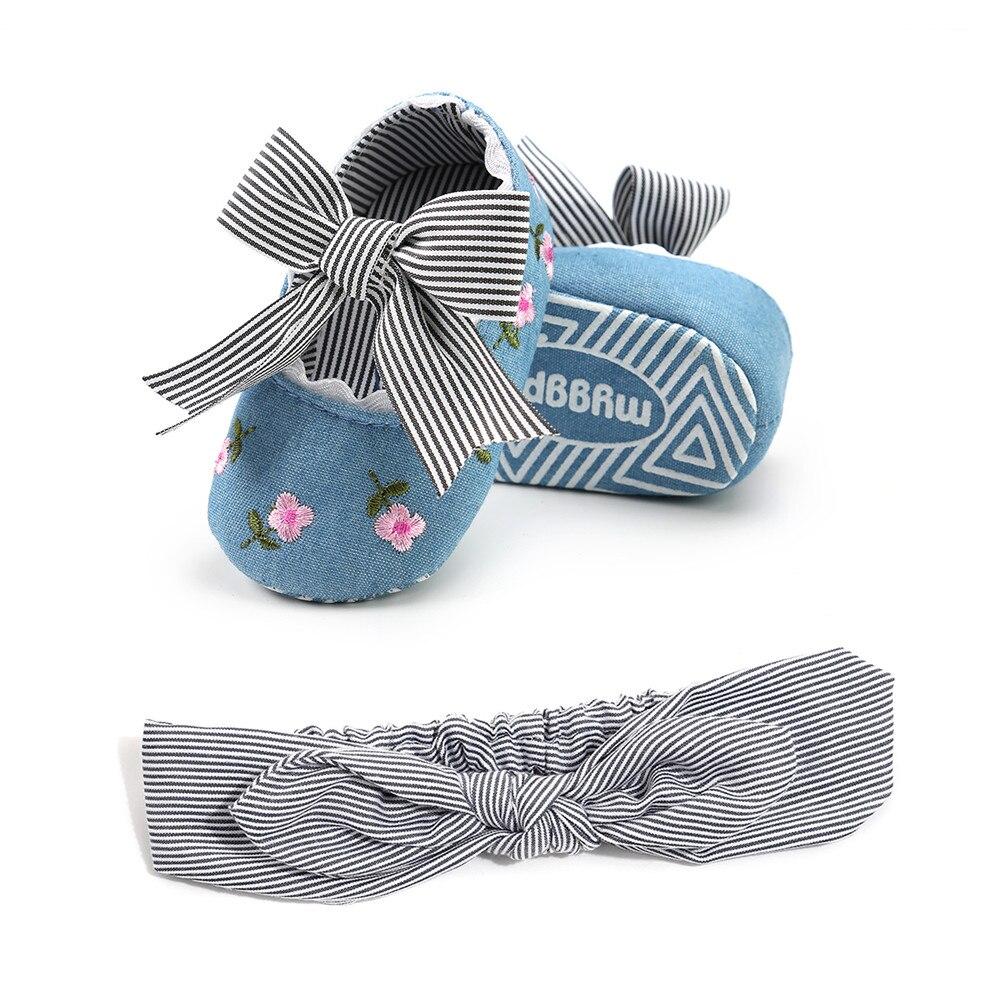 2018 nieuwe lente herfst baby casual schoenen voor meisje gestreepte - Baby schoentjes - Foto 3