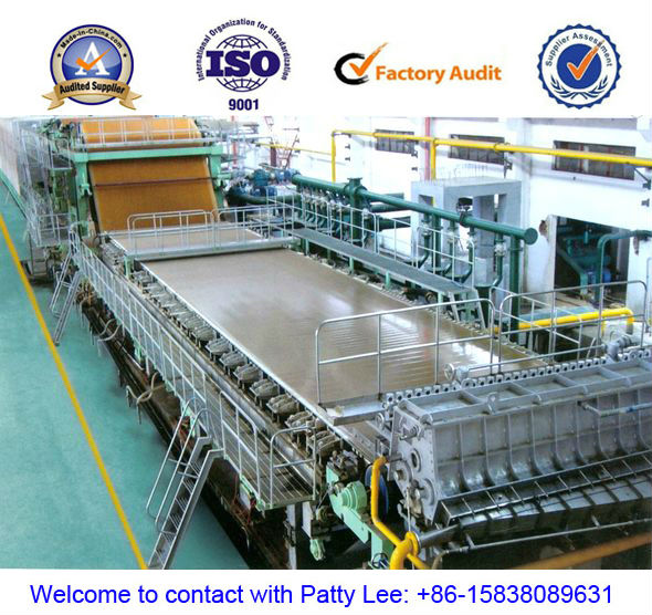 US $52631 58 |Hot selling fourdrinier type fluting paper making Machine,  width:3200mm, 70 T/D, raw material: rice straw, wheat straw on  Aliexpress com
