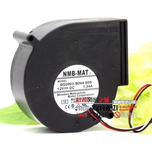 Original 12 V 1.34A BG0903-B044-00S 9733 servidor ventilador do ventilador turbo