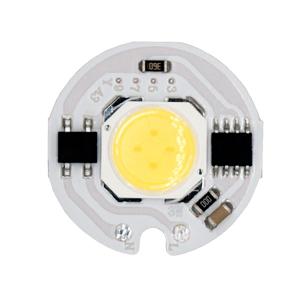 Support Spot Encastrable Led Cob Chip Light 3w 5w 7w 9w 15w Ac220v No Need Driver Smart Ic Bulb Lamp For Spot Encastrable Plafond Light Source Diy Led