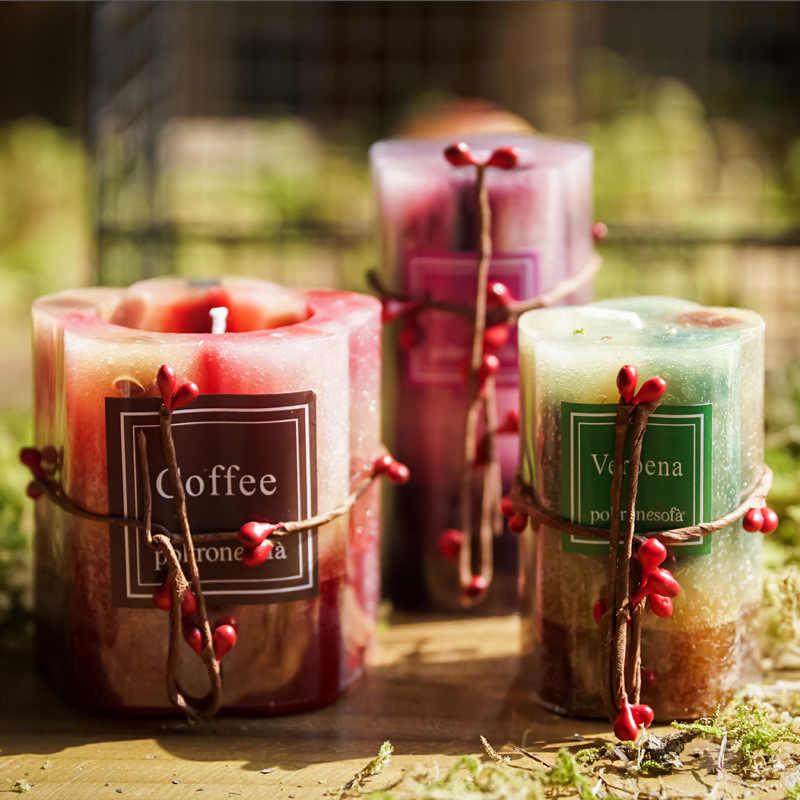 candles velas decorativas perfumadas  luminara flameless candles  birthday Wedding candles scented  candle wax
