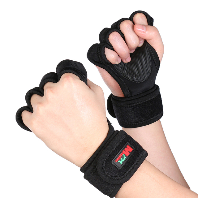 Dam Pro Gel Weight Lifting Gloves Gym Body Building Gloves: Professional Sports Gloves Gym Fitness Weightlifting