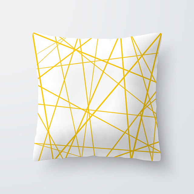 Yellow pillowcse 26