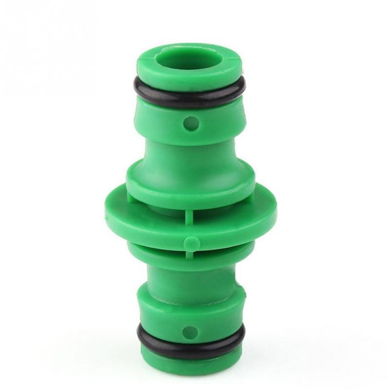 unids mm way conector segregator agua de jardn manguera de jardn de plstico accesorios de conectores de tubo de riego