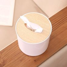 Minimalist Tissue Box Nordic Style Wooden Cover Paper Holder Home Car Oak Napkins Scandinavian Decoration Organizer